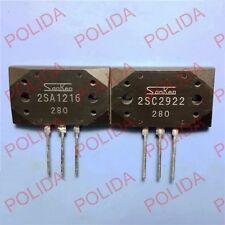 1pair or 2PCS Transistor SANKEN MT-200 2SA1216-O/2SC2922-O 2SA1216/2SC2922