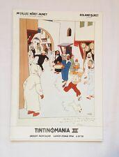 BD - Catalogue de vente Tintinomania III / 1994 / HERGE / DROUOT RICHELIEU