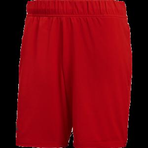 Adidas Barricade Shorts New Men's Active Wear Scarlet Flat Front 2019 DM7644