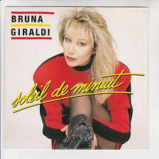 "Bruna GIRALDI Vinyl 45T 7"" SOLEIL DE MINUIT -A CONTRE COURANT -VOGUE 102272 RARE"