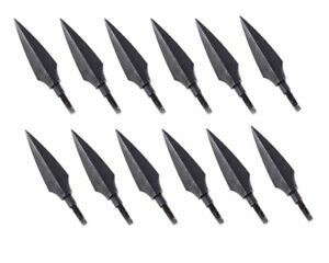 12x Hunting Screw in Broadhead Hunting Target Archery Arrow Head Tip 150grain