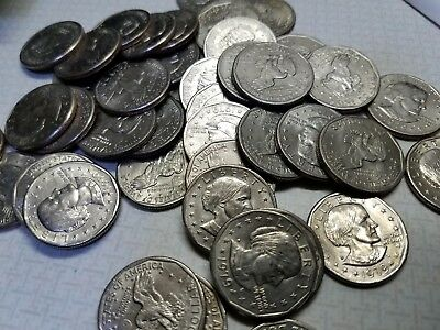 And Condition Mints Circulated Eisenhower Dollars Mixed Dates 50
