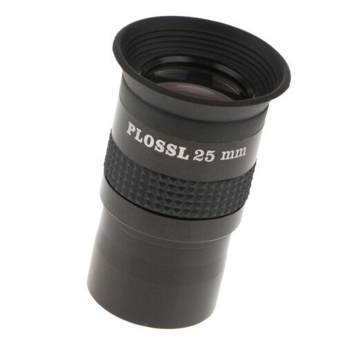 "1.25""//31.7mm Plossl 25mm Eyepiece Lens Multi-coated for Astronomy Telescope"