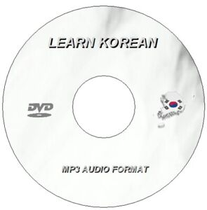 Details about Learn to Speak KOREAN Language Training Course on DVD - MP3  AUDIO + TEXTS