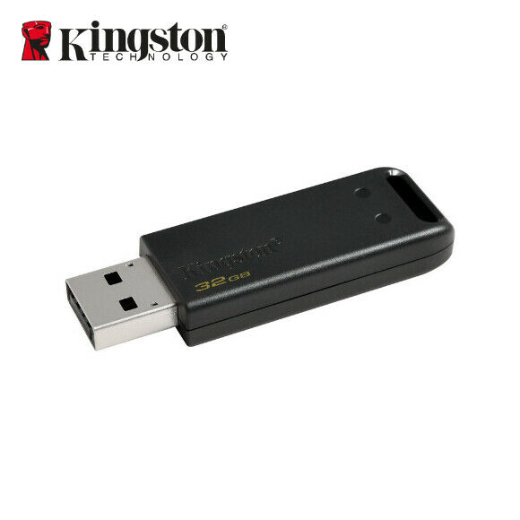 Kingston 32GB DT20 DataTraveler Capless Unidad Stick USB 2.0 Flash Drive