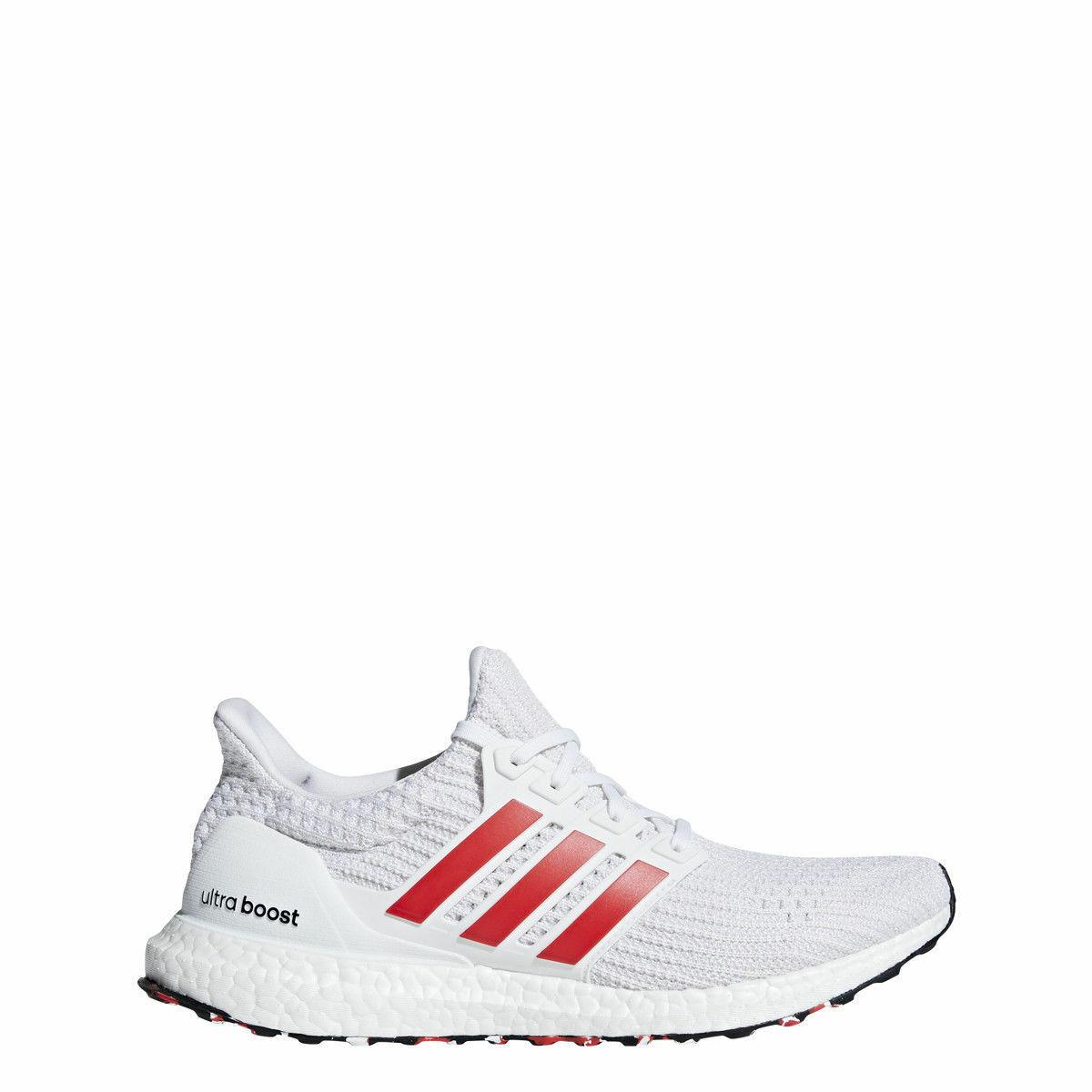 Adidas Herren Ultra Boost - Neu in Karton Weiß Rot - DB3199