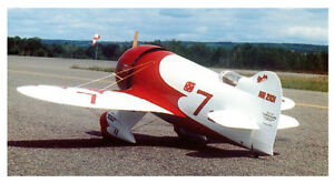 Details about 1/7 Scale Gee Bee R-2 Racer Plans, Templates and Instructions  41ws