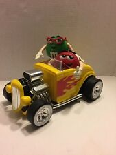 M & M COLLECTIBLE REBEL WITHOUT A CLUE YELLOW HOT ROD CANDY DISPENSER CAR