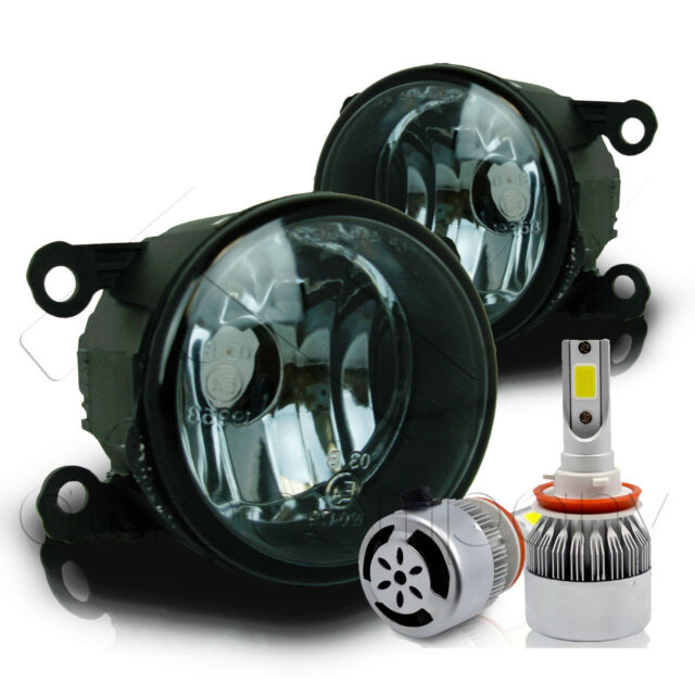 For 2011-2014 Acura TSX Replacement Fog Lights W/C6 LED