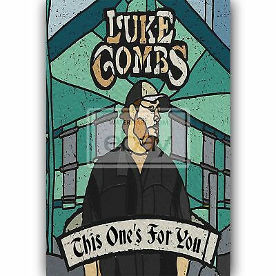 Custom Silk Poster Wall Decor This One/'s for You Luke Combs