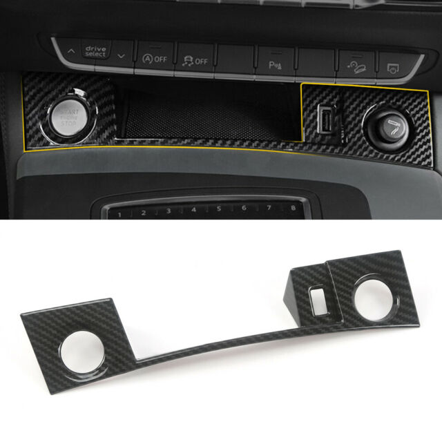 Car Accessories Start Engine Button Panel Sticker For Audi