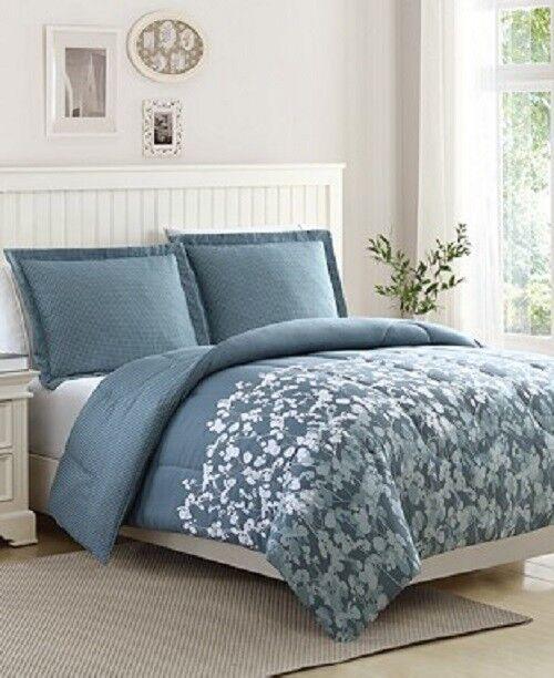 Serena Reversible 3-Pc. Comforter Set King