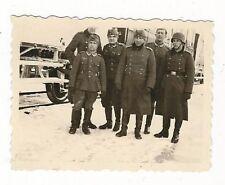 7/198 FOTO SOLDATEN TRANSPORT IN RUSSLAND DEZEMBER 1942 STAHLHELM  STIEFEL