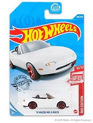 NEW 2019 Hot Wheels '91 Mazda MX-5 Miata RE-COLOR Lots Of 2