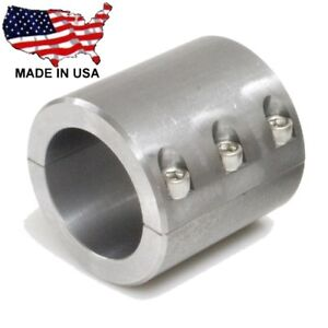 """2-Clamp On 6 Bolt Steel DOM Fabrication Clamp 1.75/"""" Roll Bar Cage Tubing Weld On"""