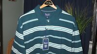 G.h. Bass & Company, Agate Teal Stripes, Retail $44 (mens Xl)- With Tags