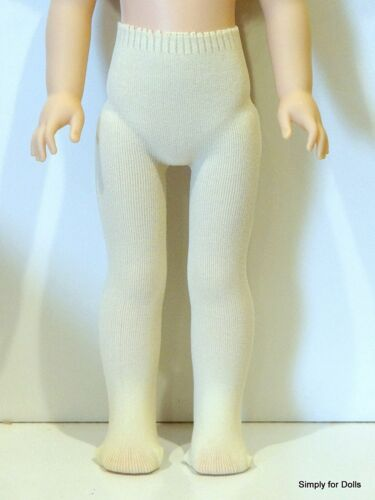 "IVORY DOLL TIGHTS fits American Girl 14.5/"" WELLIE WISHERS DOLL"