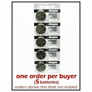 5-units-Energizer-CR2032-Lithium-3v-batteries-3-0-Volt-Button-Coin-Battery-Cell