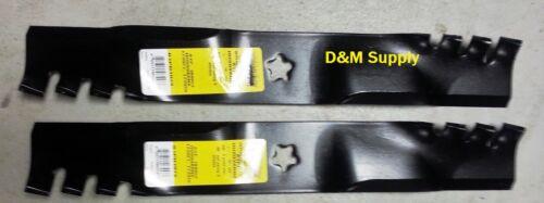 "set of 2 Craftsman Husqvarna 42/"" mower Predator blades 532139775 532138498 8498"