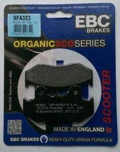 EBC Organic FRONT Brake Pads Fits HONDA SCV110 / NHX110 LEAD (2008 to 2009)