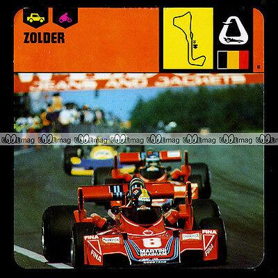 #17.19 Circuit De Zolder Course / Piste Belgique - Fiche Auto Car Card