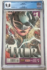 Thor #1 CGC 9.8 4th Print 1st Jane Foster Appearance as Thor