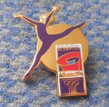OLYMPIC  ATLANTA 1996 GYMNASTICS ENAMEL PIN BADGE