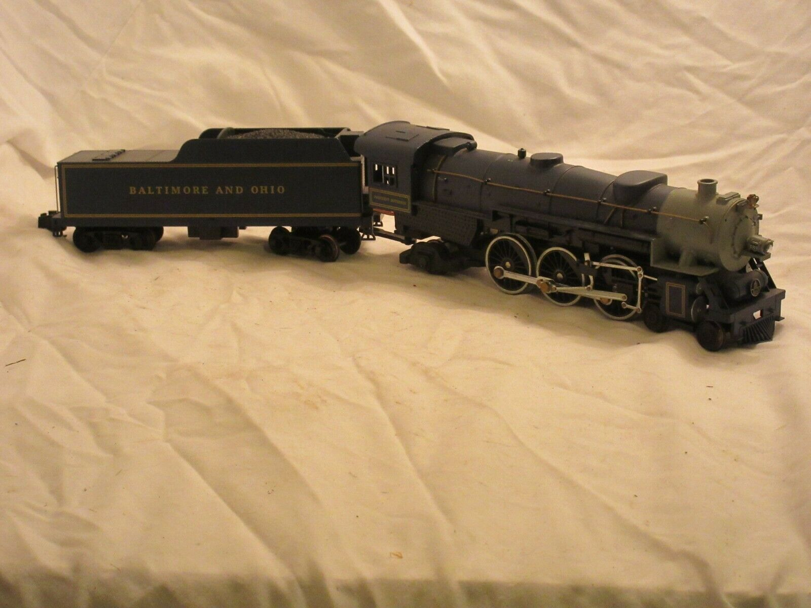 American Models Baltimore and Ohio S Gauge Royal bluee Steam Locomotive