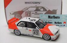 BMW m3 e30 DTM (1991) euser con decals/Minichamps 1:18