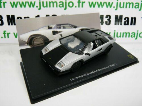 COUNTACH evoluzione 1987 LB59O voiture 1//43 IXO LAMBORGHINI