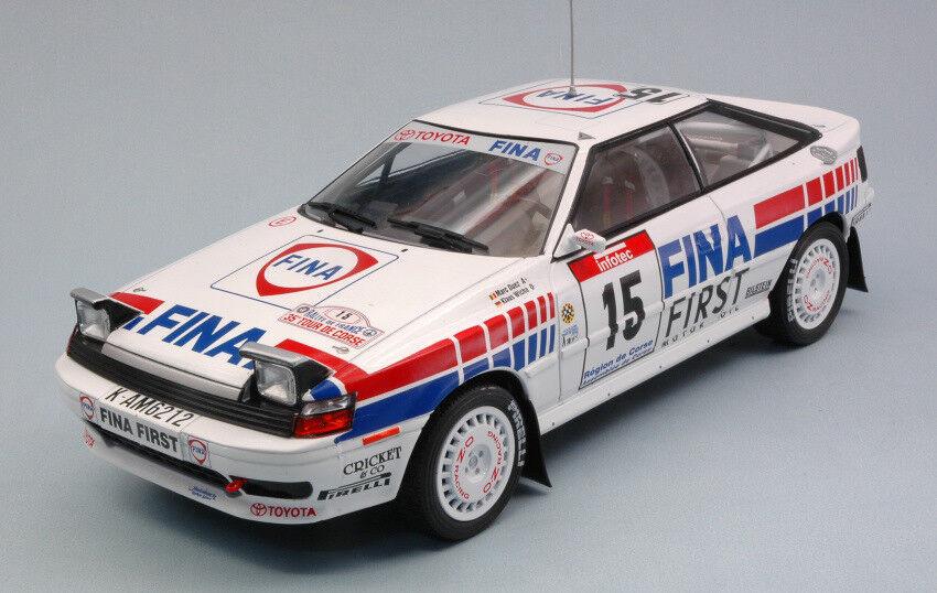 Toyota Celica Gt-4  15 4th  Tour De Corse 1991 M. Duez  K. Wicha 1 18 Model  économiser 35% - 70% de réduction