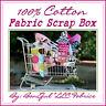 BonEful Fabric 100% COTTON QUILT BOX Scrap Pattern Material Sewing Machine FQ 4H