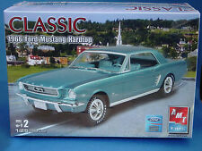 AMT Ertl Model Kit Classic 1966 Ford Mustang Hardtop Released 2005 New! 10+