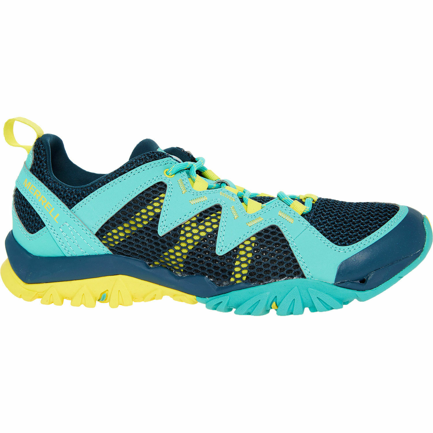 New MERRELL Turquoise Tetrex Rapid Crest breathable Walking shoes Size UK 5   38