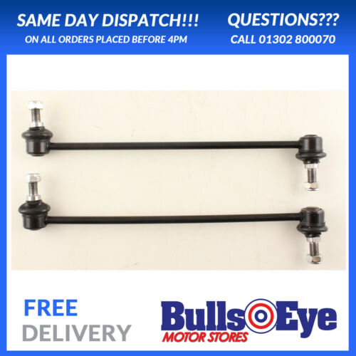 Front Anti Roll Bar Drop Links Rods x2 2002-2009 Fits With Vauxhall Vectra C