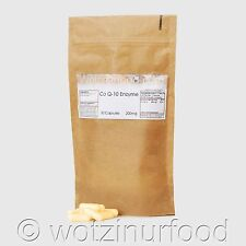 Co Enzyme Q10 CoQ10 200mg, coq10 CoQ-10 Ubiquinone Black Pepper Kraft