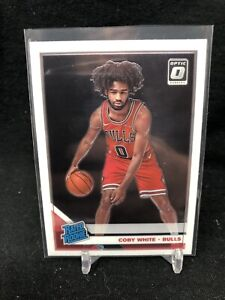 2019-20-Panini-Donruss-Optic-Rated-Rookie-Coby-White-RC-180-Chicago-Bulls-T55