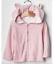 BABY GAP GIRL Favorite reversible bear hoodie 12-18M 3-6m 6-12m nnn