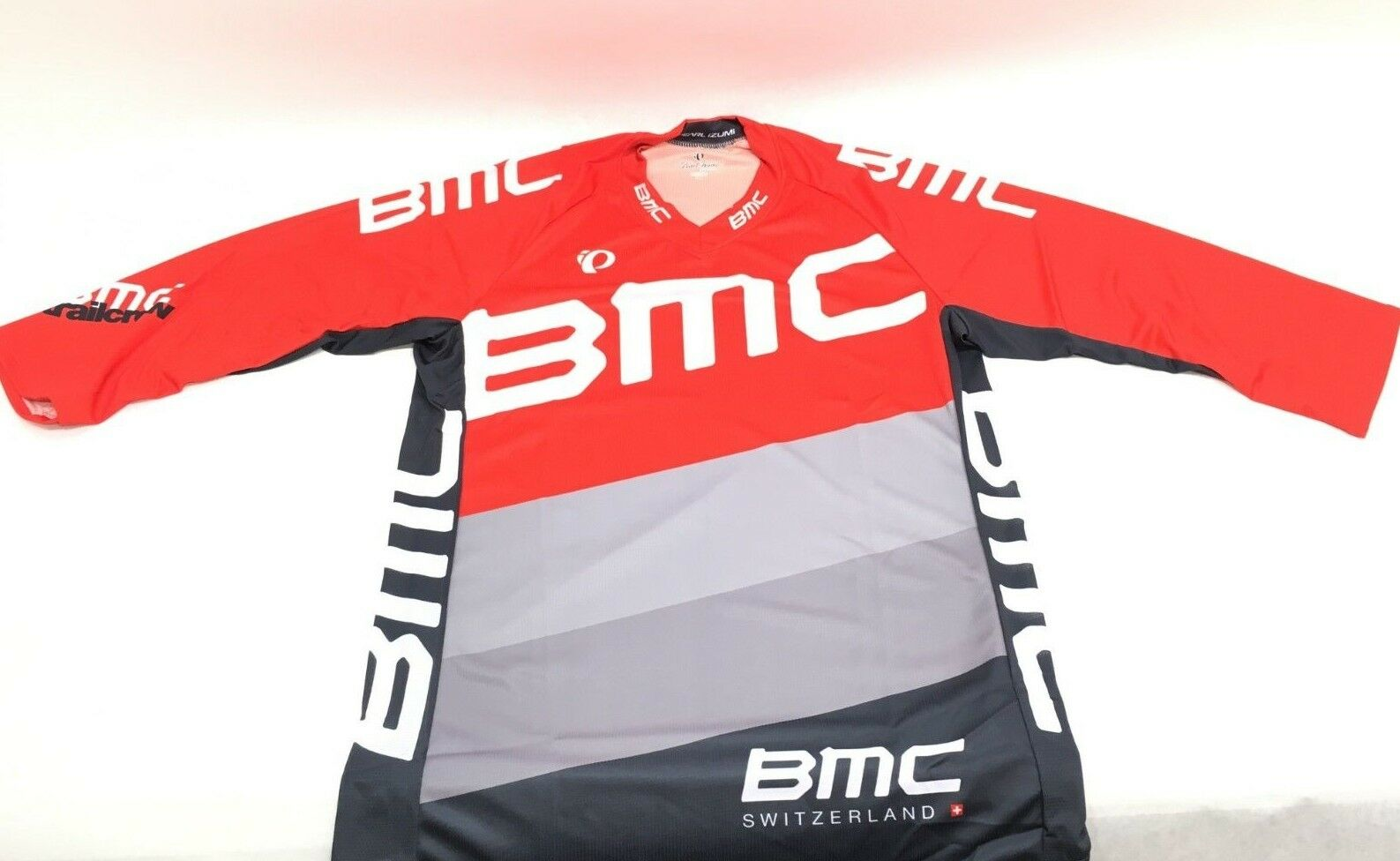 Pearl Izumi BMC  Trailcrew Mountain Bike Jersey Baggy Red Women's - XL - 215436  be in great demand