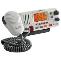 Cobra Mr F57w 25 Watt Fixed Mount Vhf Radio White [mr F57w]