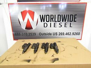 1995-Detroit-Series-60-12-7-DDEC-3-Injectors-Set-of-4-Part-115-2205
