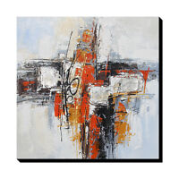 Modern abstract Hand-Painted Oil Painting wall art decor on canvas no frame