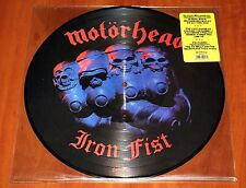 "MOTORHEAD IRON FIST *RARE* 12"" PICTURE DISC LP SANCTUARY RECORDS 2003 LIMITED"