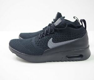 Details about W NIKE AIR MAX THEA ULTRA FLYKNIT BLACK size UK 4.5 US 7 EUR 38 881175 004