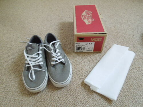 winston Rrp Uk difficilmente £ avverte grigio 55 Usato scarpe bianche nuovo antracite 4 Vans qzH1xfwO