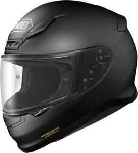NEU-SHOEI-Motorradhelm-NXR-schwarz-matt-Gr-S-55-56-sportlicher-Helm