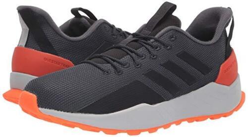 Heren Carbon Trail Bb7383 Adidas Gloednieuw zwart hardloopschoen Questar grijs Kleur 7wZ7Or