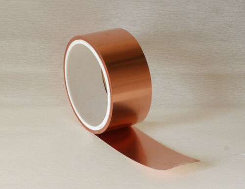lang Kupferblech Kupferband 5 mtr Kupferrolle 0,2 x 50 mm
