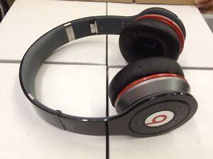 Used Original Monster Beats Wireless By Dr Dre Black Bluetooth Headphones Iphone Ebay