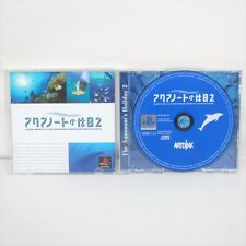 THE AQUANAUTS HOLIDAY 2 Aquanaut's PS1 Playstation Import JAPAN Game p1